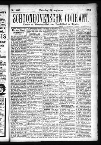 Schoonhovensche Courant 1912-08-24