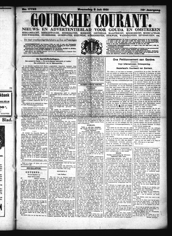 Goudsche Courant 1931-07-08