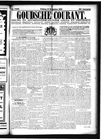 Goudsche Courant 1930-12-12