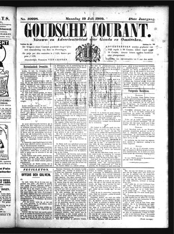 Goudsche Courant 1909-07-19