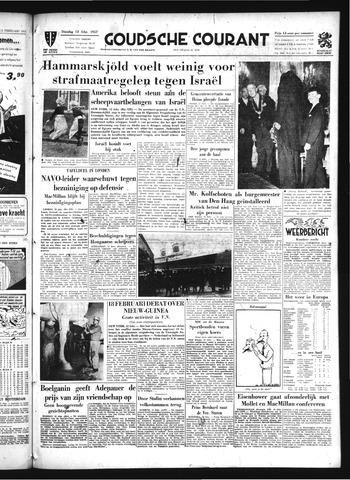 Goudsche Courant 1957-02-12