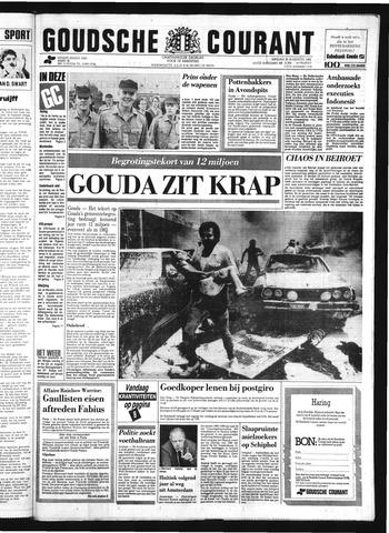 Goudsche Courant 1985-08-20