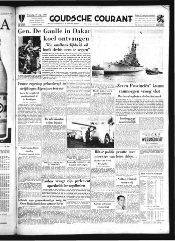 Goudsche Courant 1958-08-27