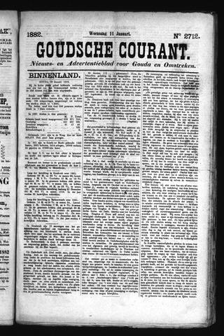 Goudsche Courant 1882-01-11