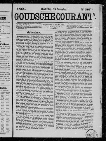 Goudsche Courant 1865-11-23