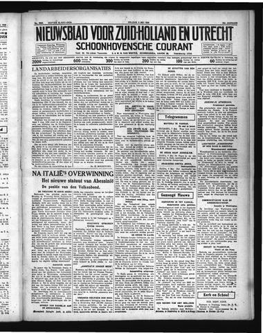 Schoonhovensche Courant 1936-05-08