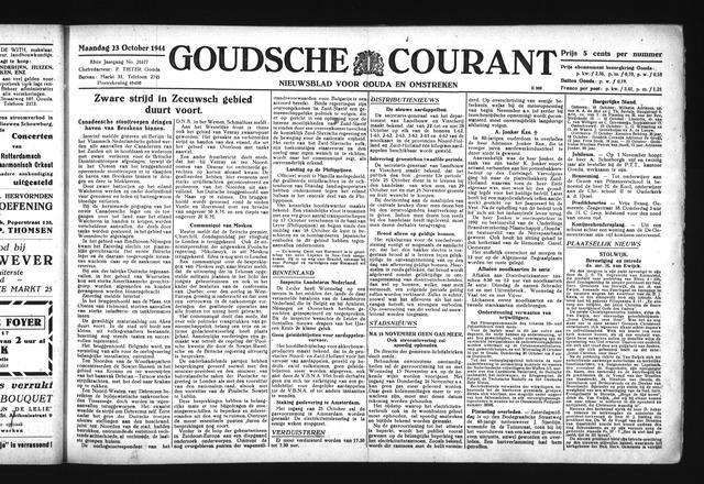Goudsche Courant 1944-10-23