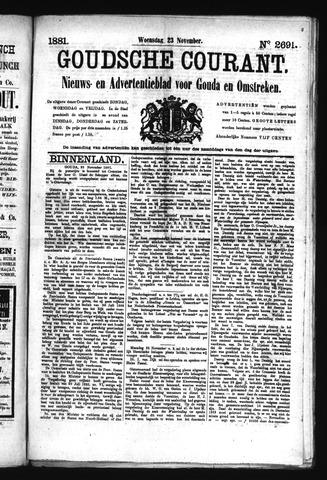 Goudsche Courant 1881-11-23