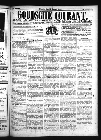 Goudsche Courant 1933-03-16