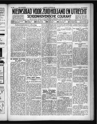 Schoonhovensche Courant 1938-08-15