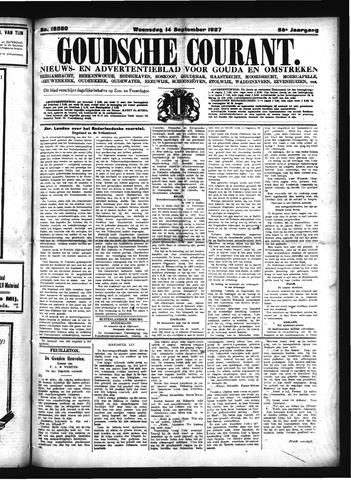 Goudsche Courant 1927-09-14