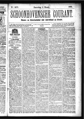 Schoonhovensche Courant 1901-03-02