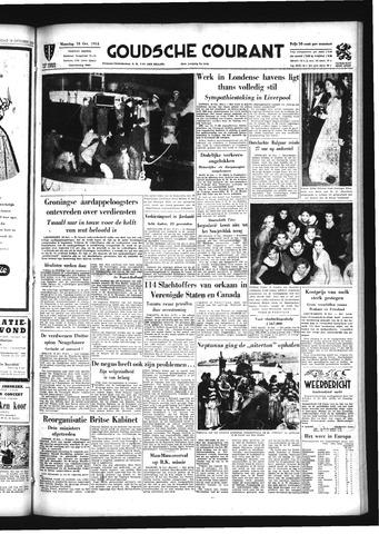 Goudsche Courant 1954-10-18