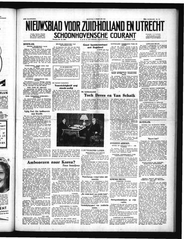 Schoonhovensche Courant 1951-02-05
