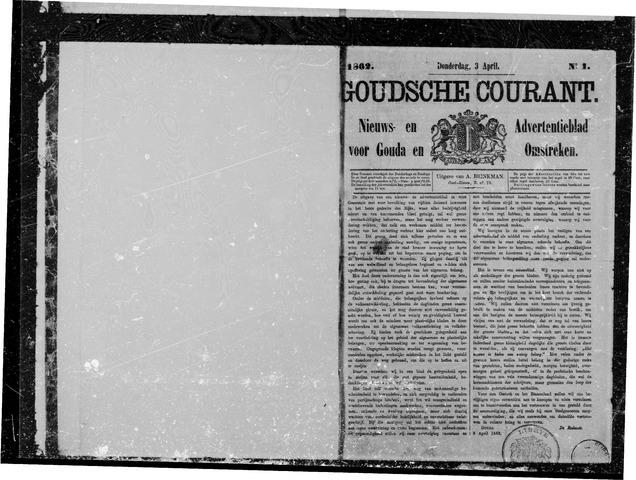 Goudsche Courant 1862