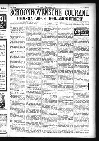 Schoonhovensche Courant 1925-12-04