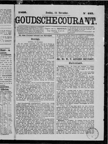 Goudsche Courant 1866-11-11