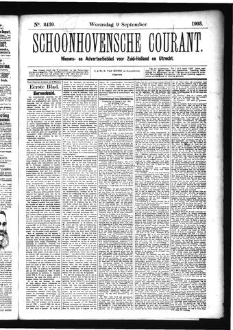 Schoonhovensche Courant 1903-09-09