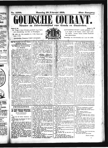 Goudsche Courant 1910-02-28
