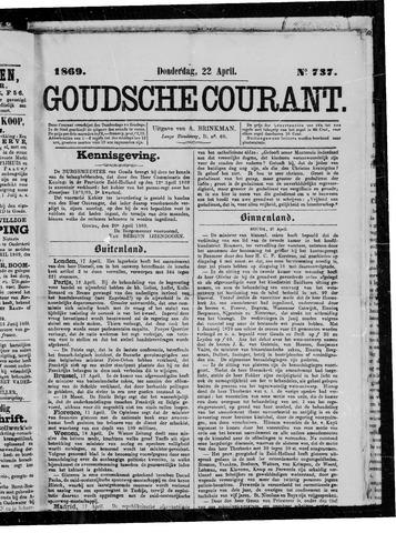 Goudsche Courant 1869-04-22