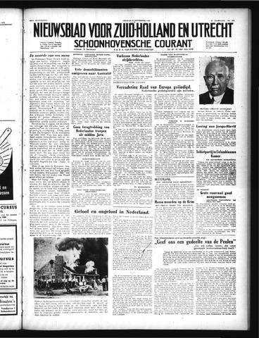 Schoonhovensche Courant 1949-09-09