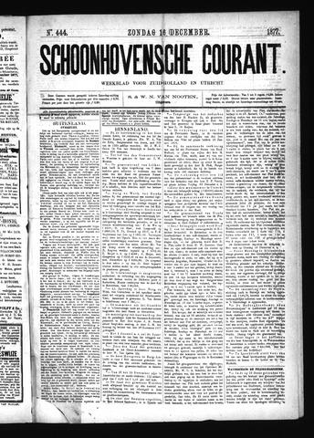 Schoonhovensche Courant 1877-12-16