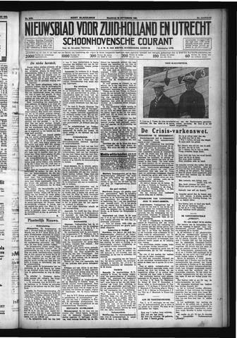 Schoonhovensche Courant 1932-09-26