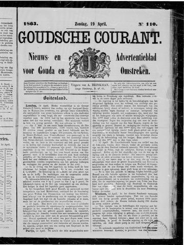 Goudsche Courant 1863-04-19