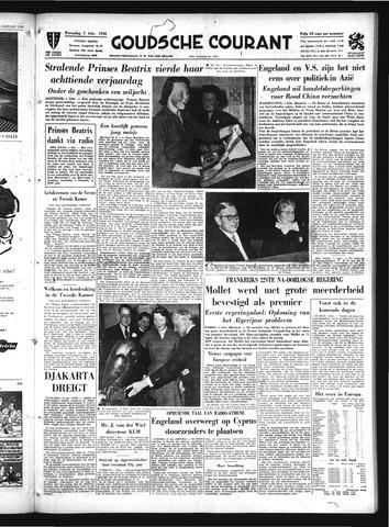 Goudsche Courant 1956-02-01