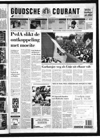 Goudsche Courant 1991-08-28