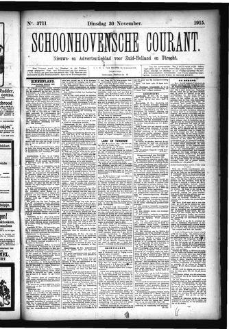 Schoonhovensche Courant 1915-11-30