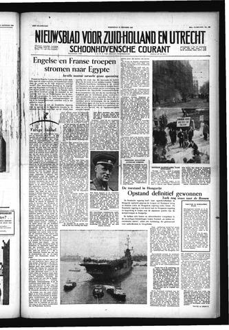 Schoonhovensche Courant 1956-10-31