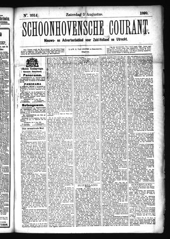 Schoonhovensche Courant 1899-08-05