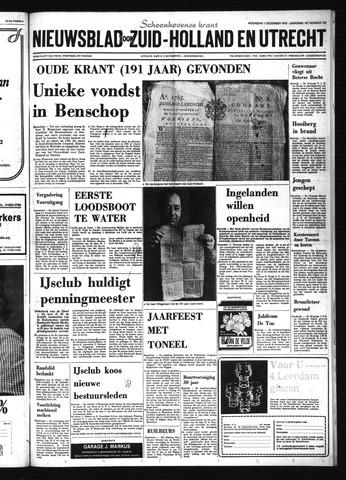 Schoonhovensche Courant 1976-12-01