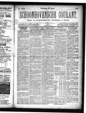 Schoonhovensche Courant 1916-06-27