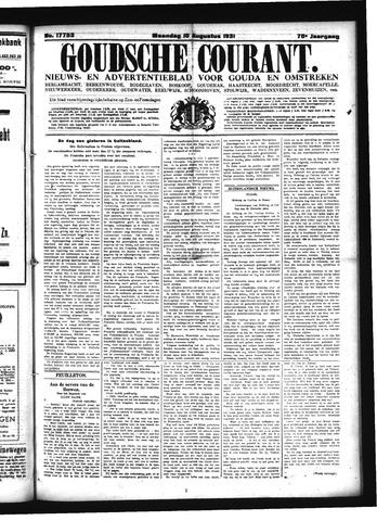 Goudsche Courant 1931-08-10