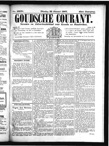 Goudsche Courant 1907-01-22