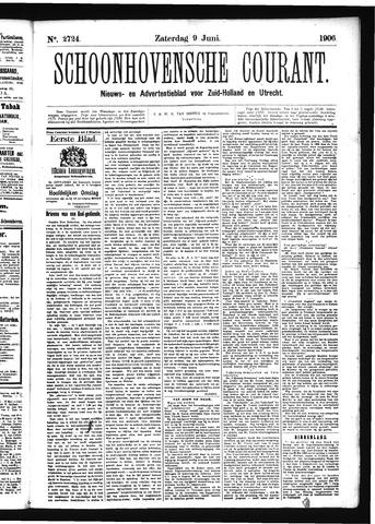 Schoonhovensche Courant 1906-06-09