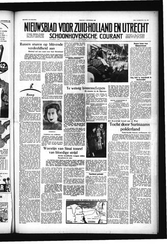 Schoonhovensche Courant 1955-11-04
