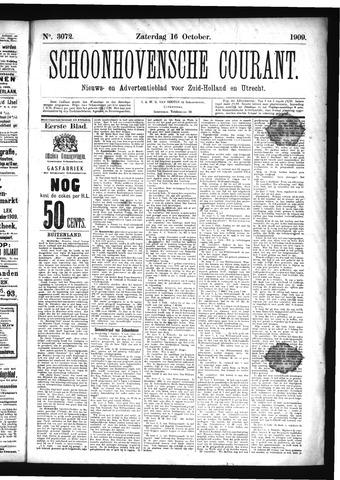 Schoonhovensche Courant 1909-10-16