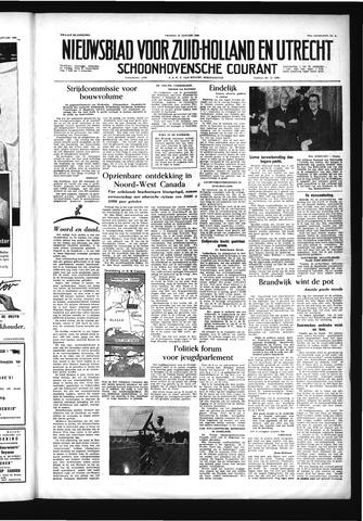 Schoonhovensche Courant 1956-01-13