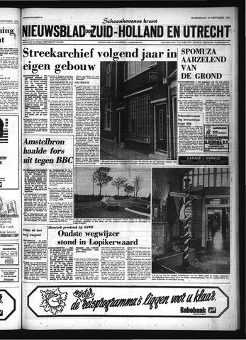 Schoonhovensche Courant 1974-10-16