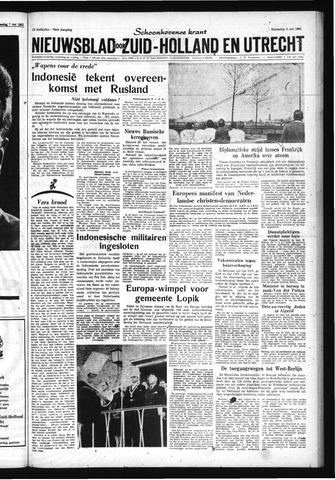 Schoonhovensche Courant 1962-05-09