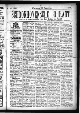 Schoonhovensche Courant 1913-08-20