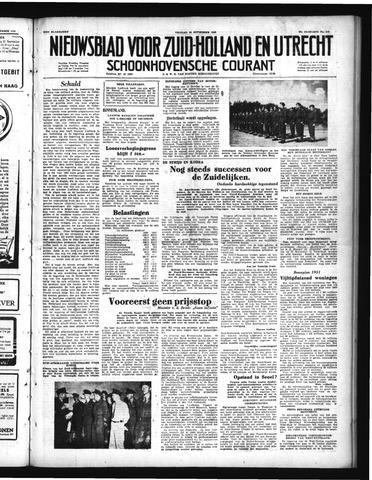 Schoonhovensche Courant 1950-09-22