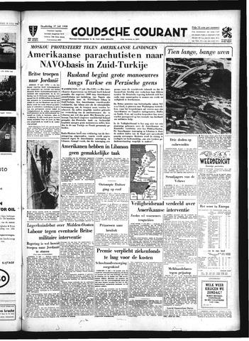 Goudsche Courant 1958-07-17