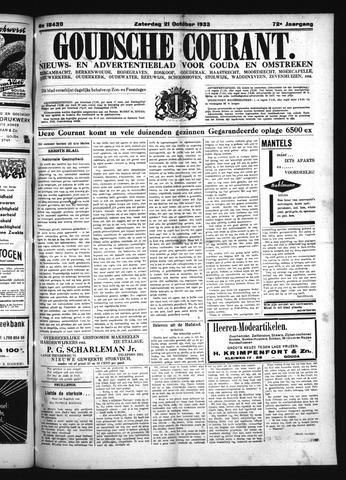 Goudsche Courant 1933-10-21