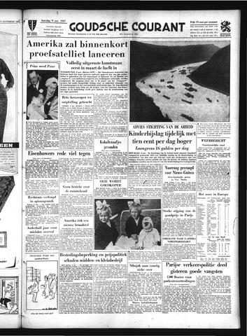 Goudsche Courant 1957-11-09