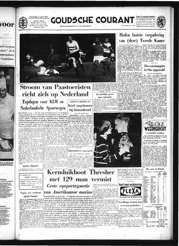Goudsche Courant 1963-04-11