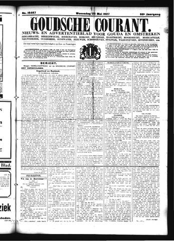 Goudsche Courant 1927-05-25